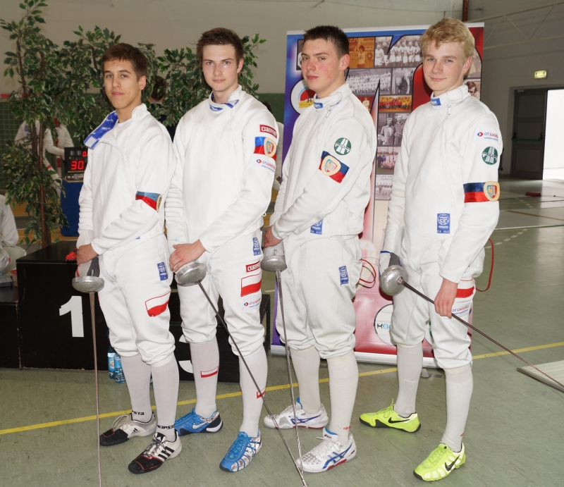Piast Gliwice – Kadeci: Michał Bar,  Damian Michalak, Wacław Bartolewski, Marcin Nikiel